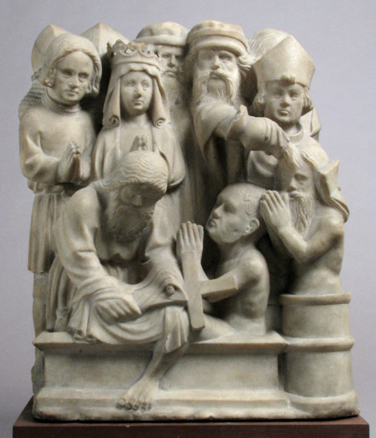Relief with Scene from the Legend of the True Cross