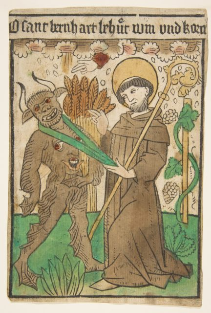Saint Bernard Vanquishing the Devil