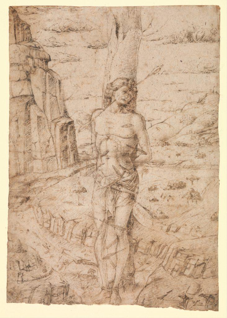 Saint Sebastian in a Landscape