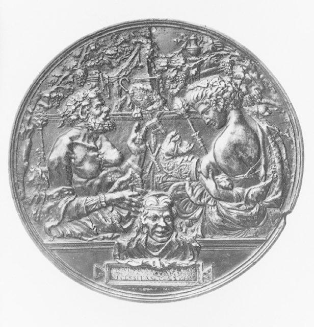 Satyr and Bacchante