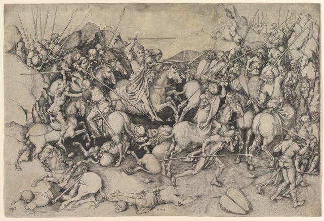 St. James the Major at the Battle of Clavigo