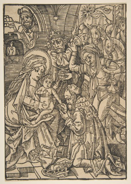 The Adoration of the Magi (Schr. 100)