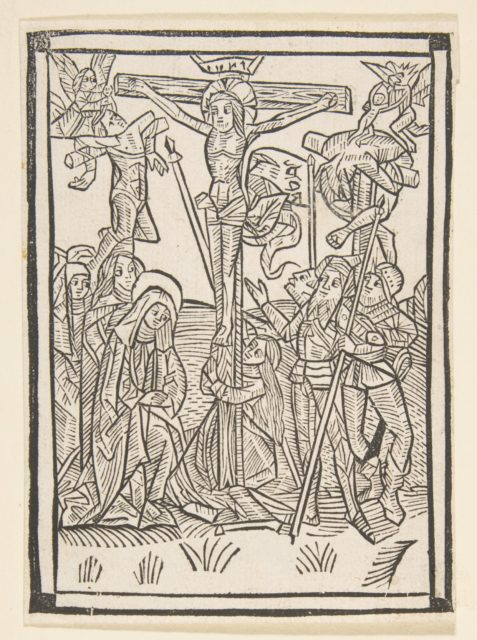 The Crucifixion (Schr. 486)