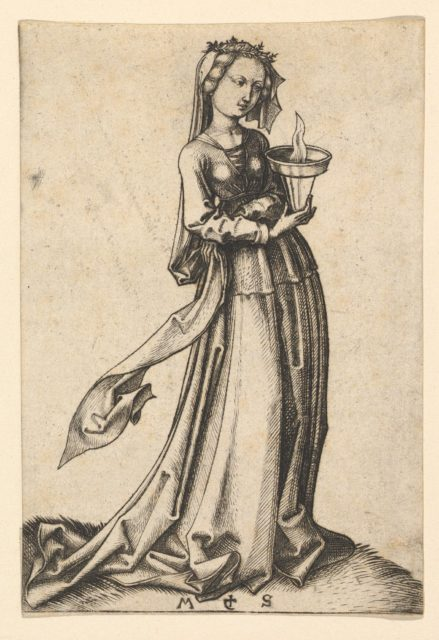 The Fourth Wise Virgin, from the series The Wise and Foolish Virgins