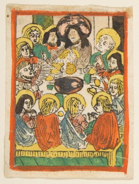 The Last Supper (Schr. 176a)
