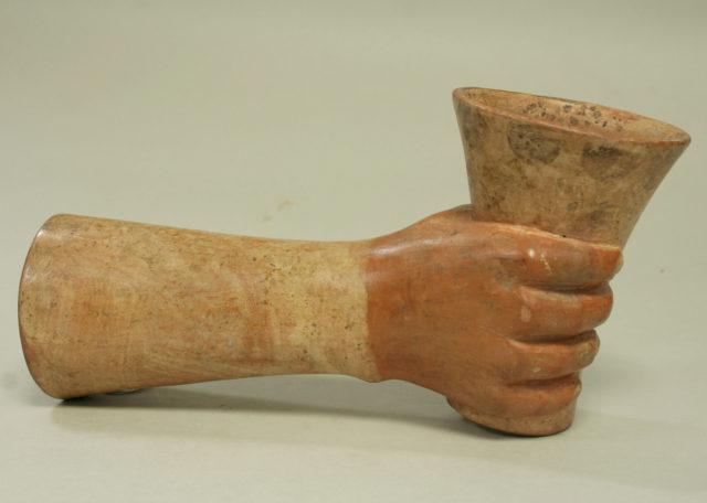 Vessel, Hand with Kero