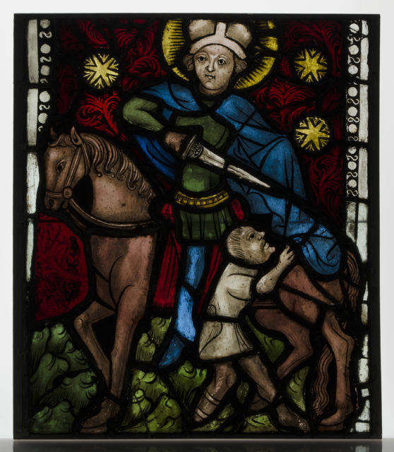 Saint Martin on Horseback Dividing His Cloak