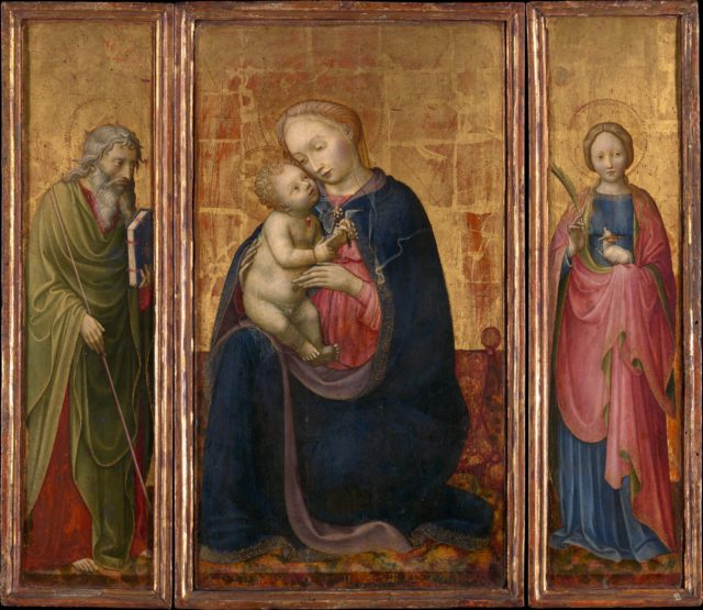 Madonna and Child with Saints Philip and Agnes