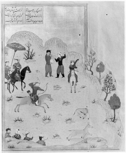 Haft Paikar (Seven Portraits) of the Khamsa (Quintet) of Nizami