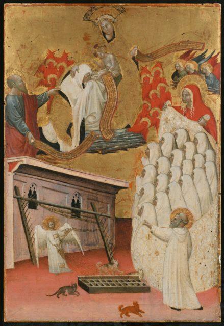 Santa Francesca Romana Clothed by the Virgin
