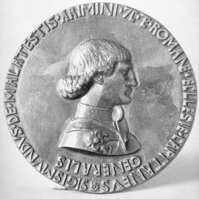 Sigismondo Malatesta, as Captain General of the Roman Church
