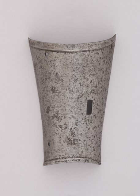 Inner Plate of a Forearm Defense (Vambrace)