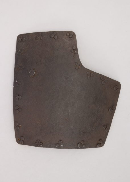 Left Breastplate from a Brigandine