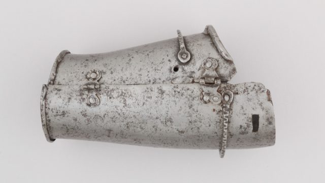 Outer Plate of a Forearm Defense (Vambrace)