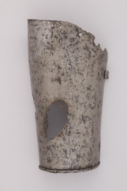 Part of a Forearm Defense (Vambrace)