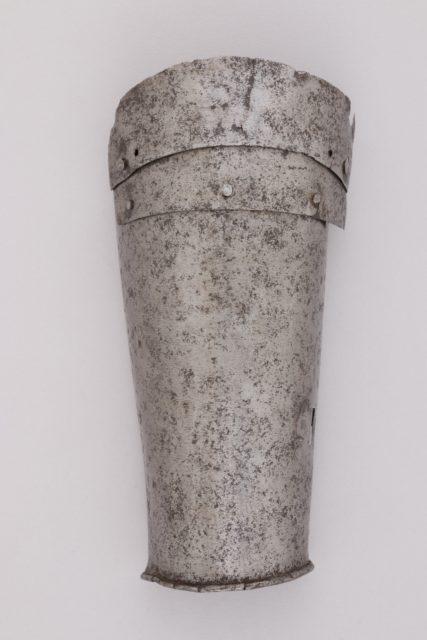 Part of a Forearm Defense (Vambrace)