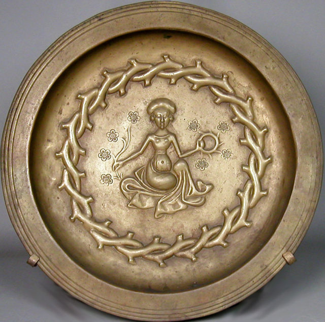 Plate with Seated Woman