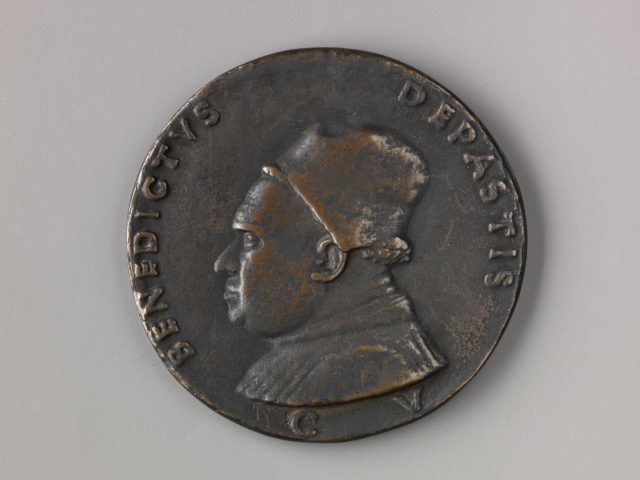 Medal:  Benedetto de Pasti