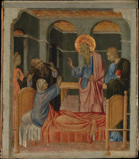 Saint John the Evangelist Raises Drusiana