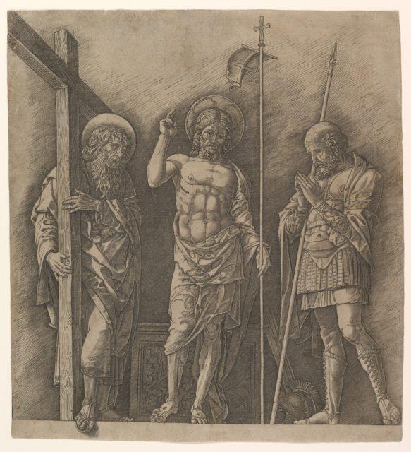 The Risen Christ between Saint Andrew and Saint Longinus