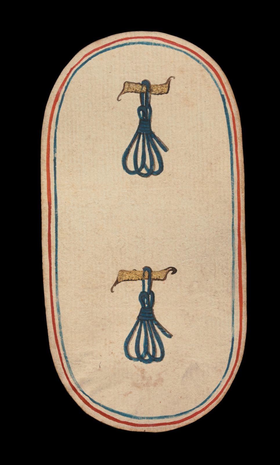 2 of Tethers, from The Cloisters Playing Cards