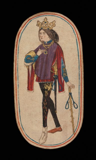 King of Nooses, from The Cloisters Playing Cards
