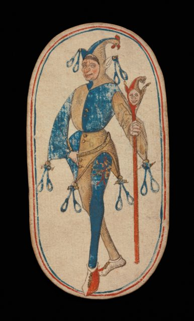 Knave of Nooses, from The Cloisters Playing Cards