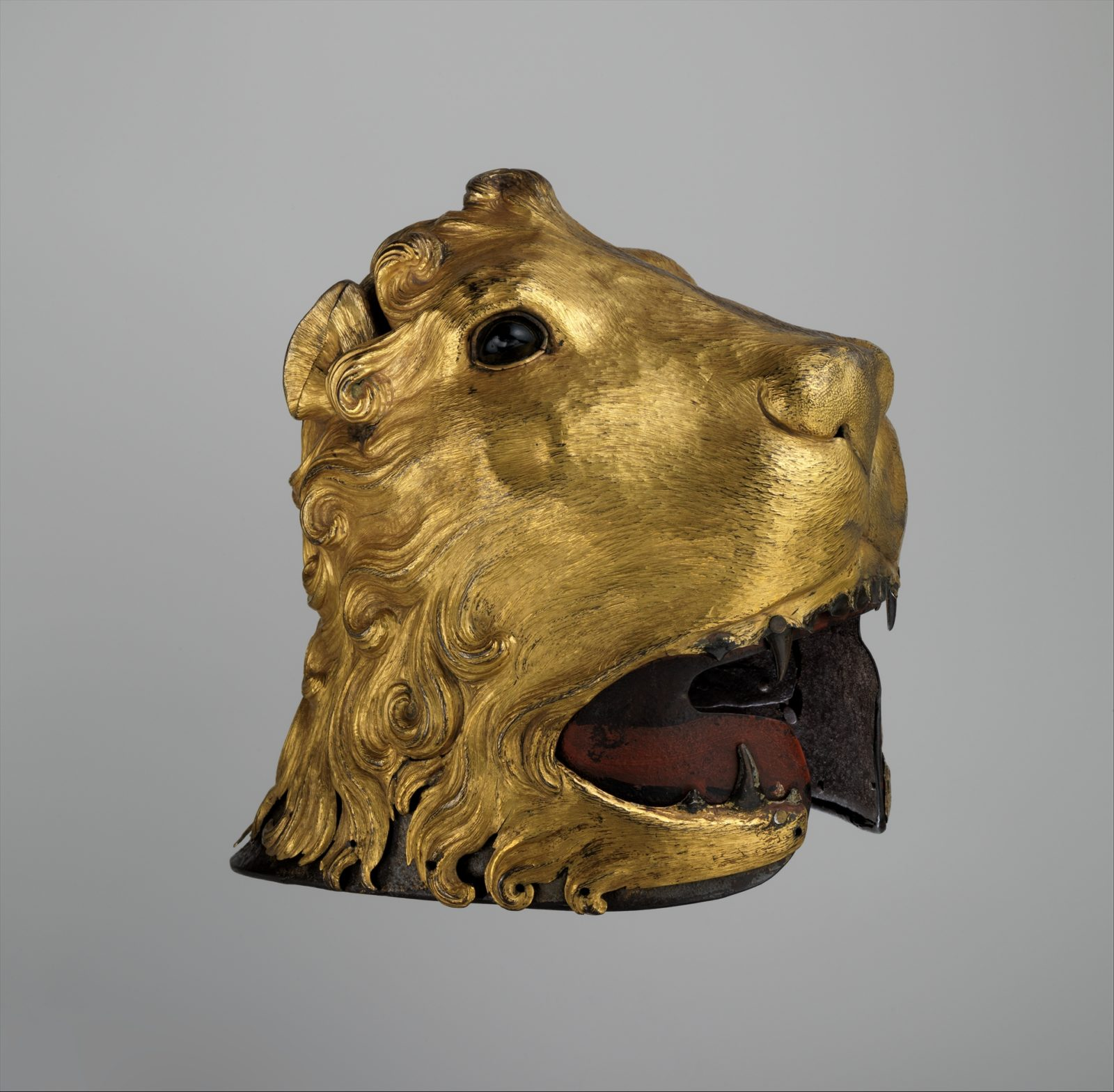 Sallet in the Shape of a Lion's Head