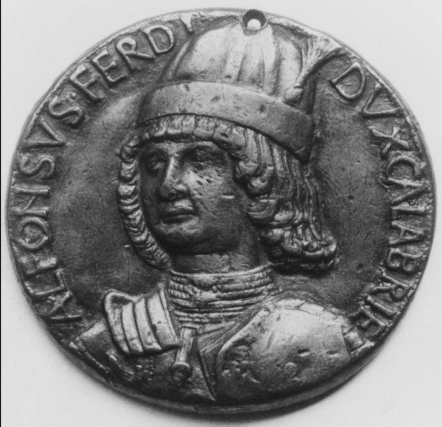 Alfonso of Aragon, Duke of Calabria (1448–1495)