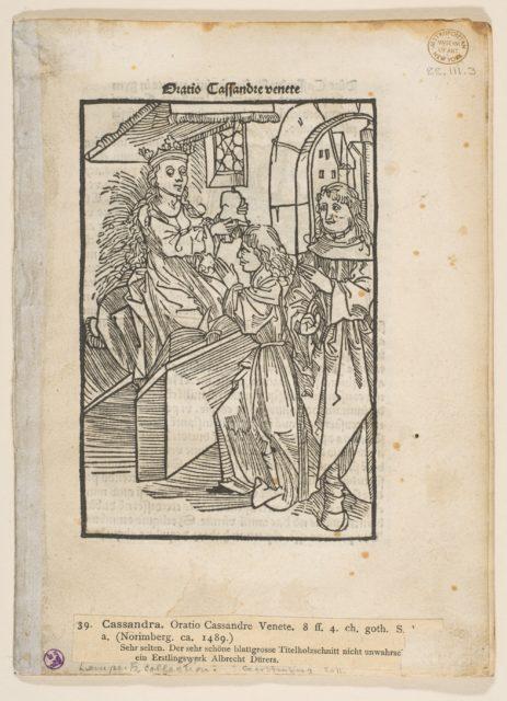 Oratio Cassandre Venete
