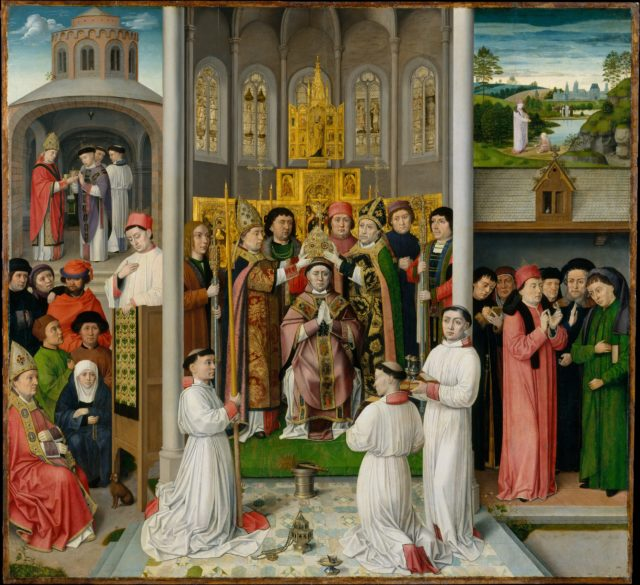 Scenes from the Life of Saint Augustine of Hippo
