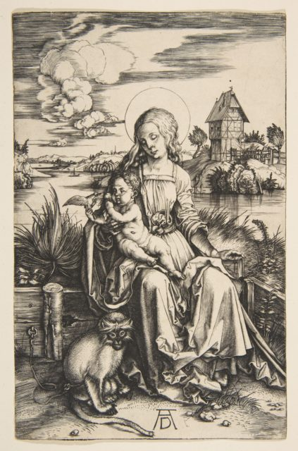 Virgin and Child with the Monkey