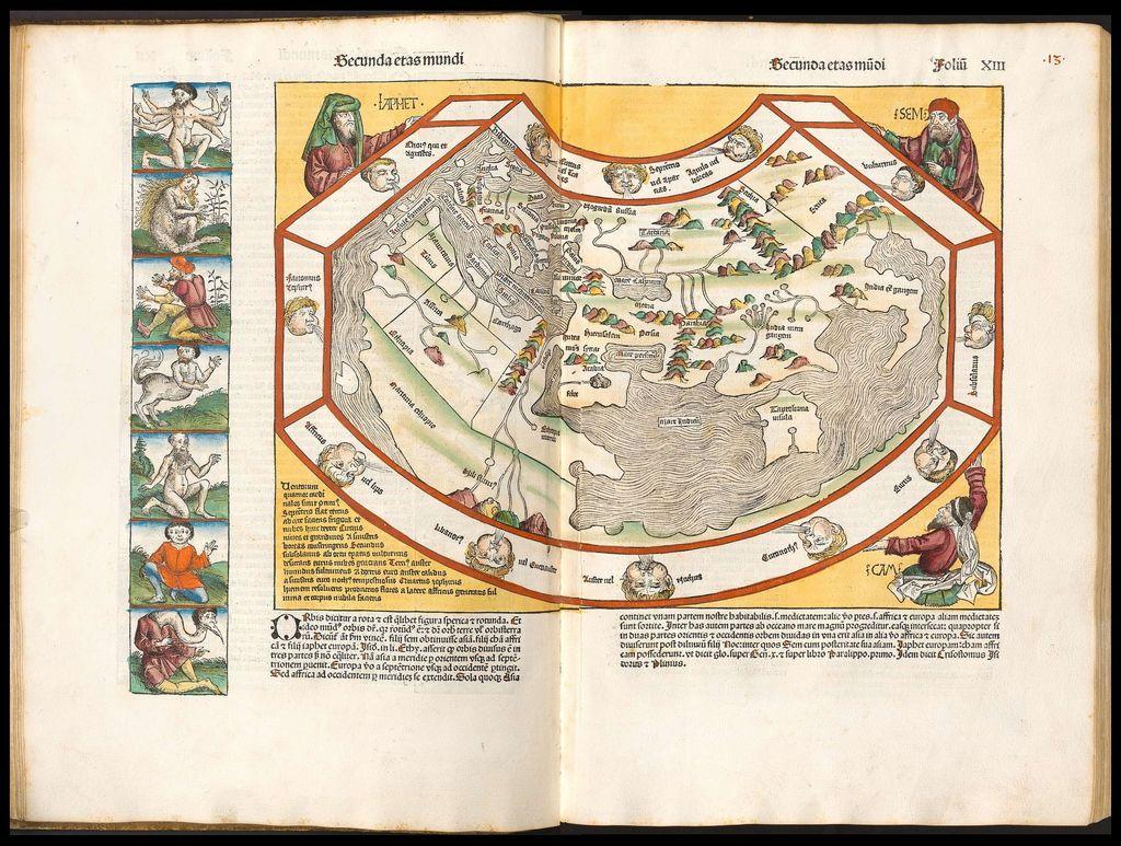 Nuremberg Chronicle world map