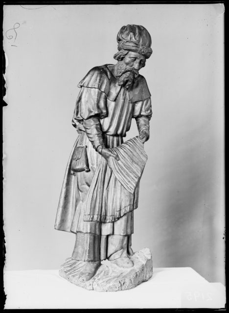 A Bearer at the Sepulchre (Joseph of Arimathea or Nicodemus)