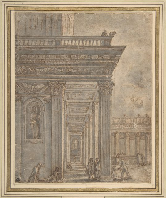 A Temple in a Courtyard (Pool of Bethesda)