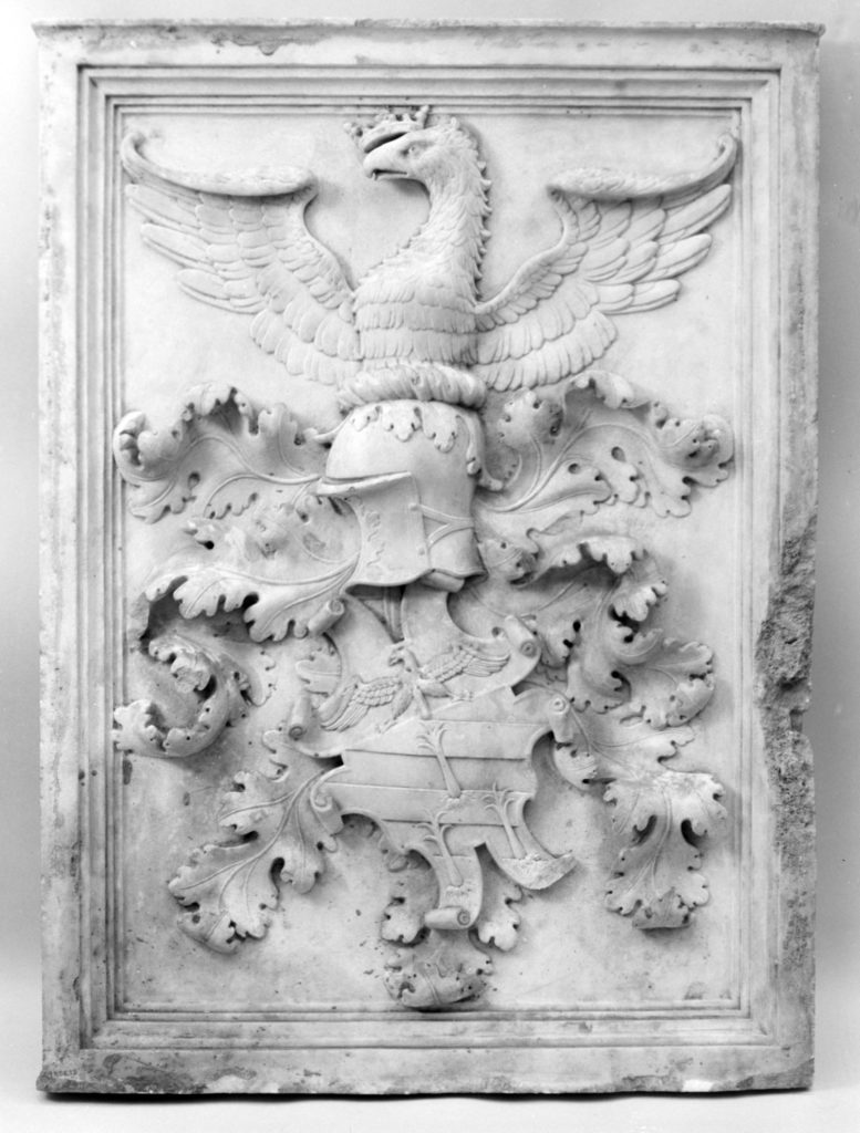Armorial tablet