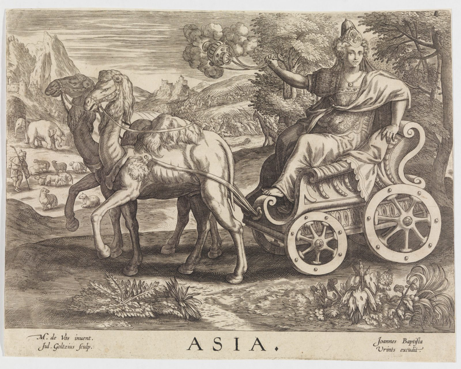 Asia from The Four Continents