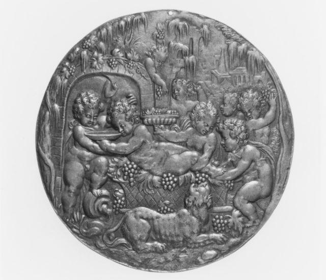 Bacchanal of Putti