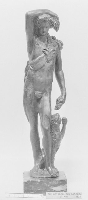 Bacchus with a Panther
