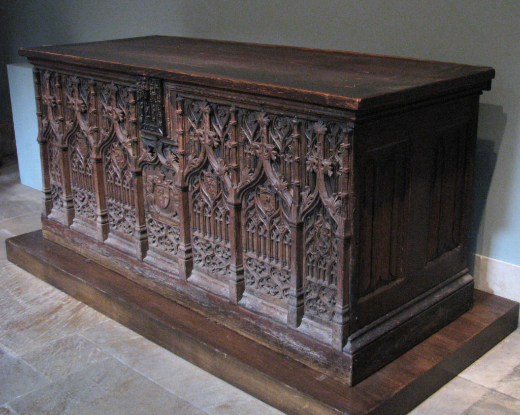 Chest with Coats of Arms
