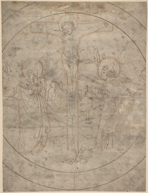 Crucifixion with the Virgin and St. John the Evangelist