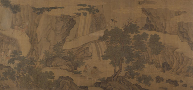Daoist Immortals in a Landscape
