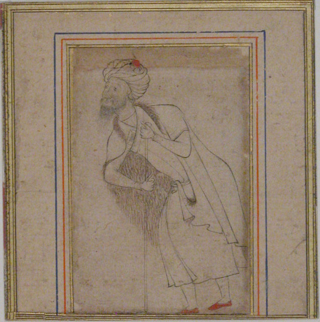 Dervish Leaning on a Staff