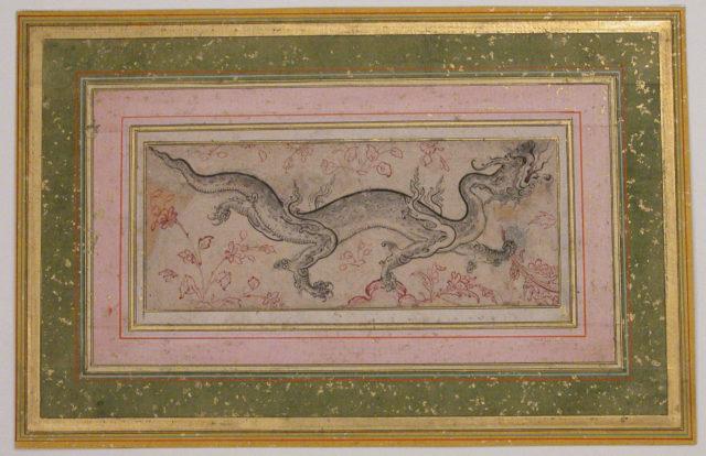 Dragon in a Landscape