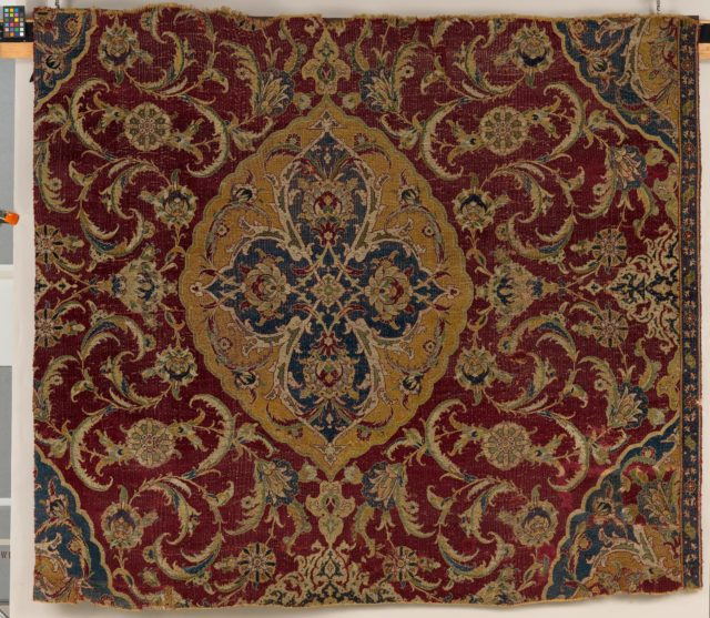 Fragment of an Ottoman Court Carpet