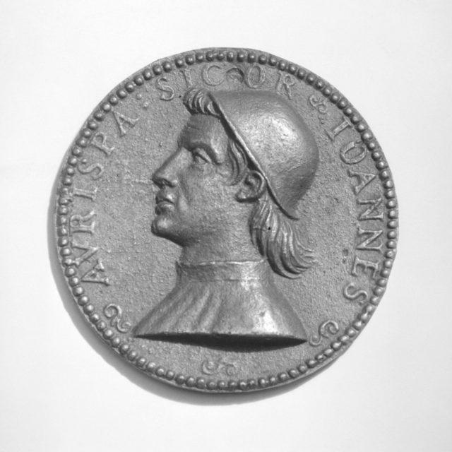 Giovanni Aurispa, Secretary to Popes Eugene IV and Nicholas V (ca. 1369–1459)