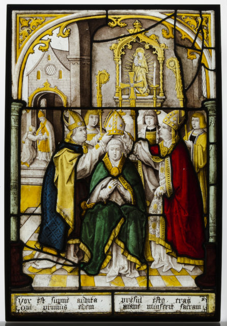 Glass Panel of Saint Nicholas