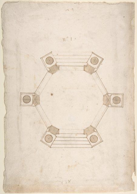 Ground Plan of a Pavillion