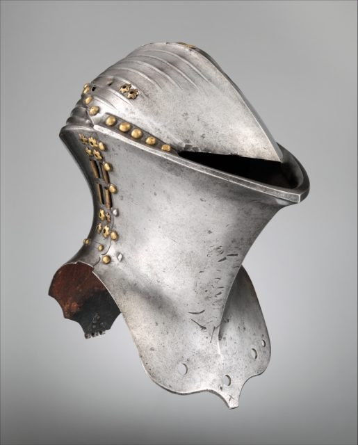 Helm for the Joust of Peace (Stechhelm)