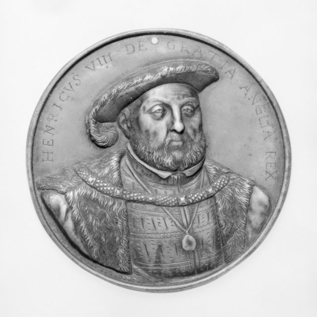 Henry VIII, King of England (1491–1547, r. 1509–47)